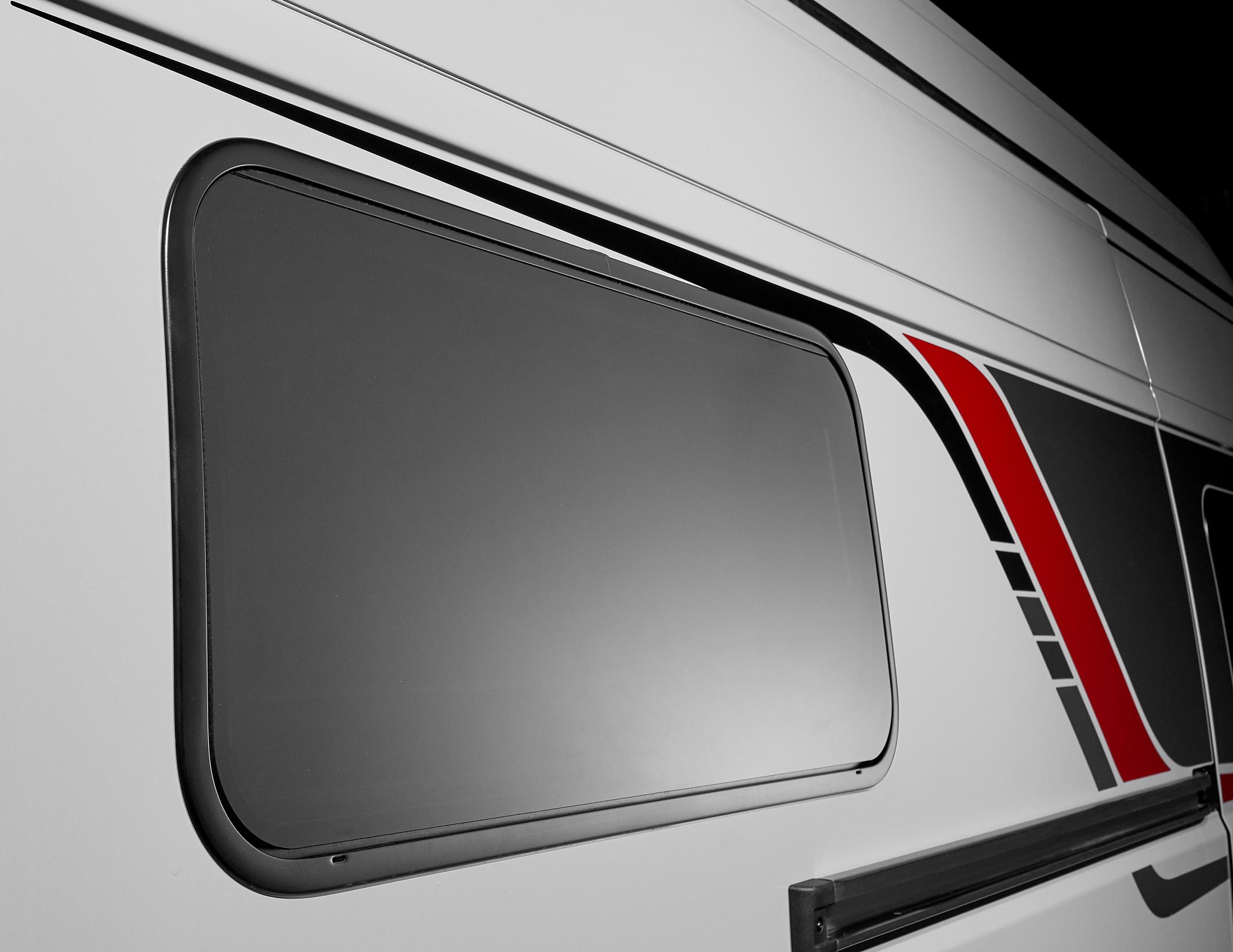 Bürstner Campeo 2020 Alurahmenfenster
